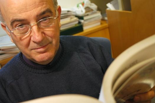 Lluís Pagès, directors i crador de Pagès editors i Editorial Milenio