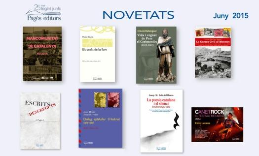 Butlletí-1506-Novetats-2015-PAGÈS