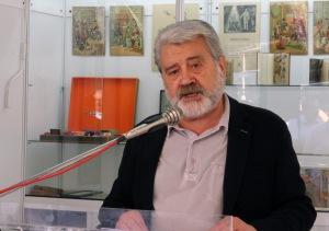 Gonzalo Pontón, llegeix el prego de Josep Fontana