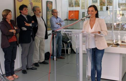 Patricia Camiño, presidenta de la FIRA DEL LLIBRE D'OCASIÓ ANTIC I MODERN