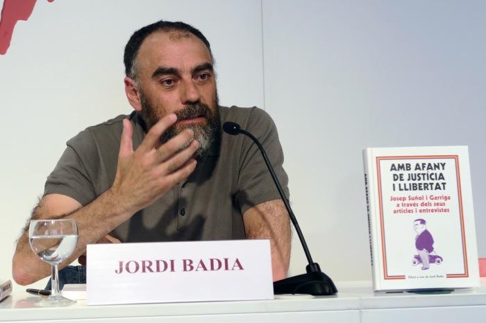 Jordi Badia, autor del llibre